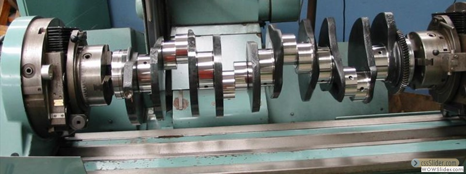 Engine reconditioning machinists,crankshaft grinding